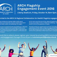 News Image:ARCH Flagship Engagement Event - 14th October 2016