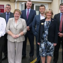 News Image:Future health, wellbeing and economic regeneration of Llandovery discussed at high level meeting