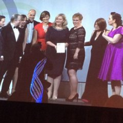 News Image:Lymphoedema Network Wales scoops national Patient Safety award